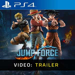 Jump Force PS4 Video Trailer