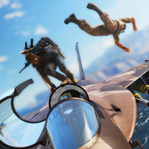 Just Cause 3 PS4 Plane Ride