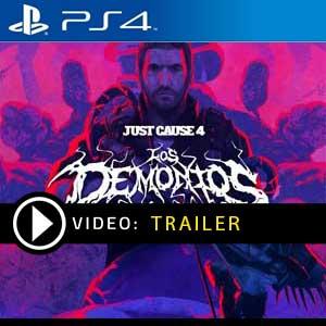 Just Cause 4 Los Demonios PS4 Prices Digital or Box Edition