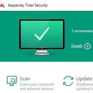 KASPERSKY TOTAL SECURITY 2020 3 Recommendations