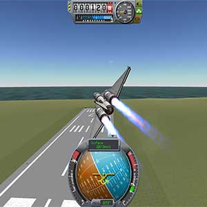 Kerbal Space Program Rocket Launch
