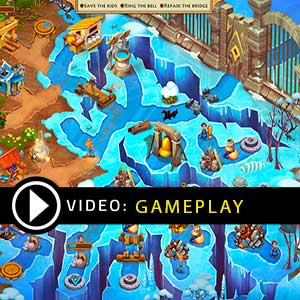 Kids of Hellas Back to Olympus Gameplay Video