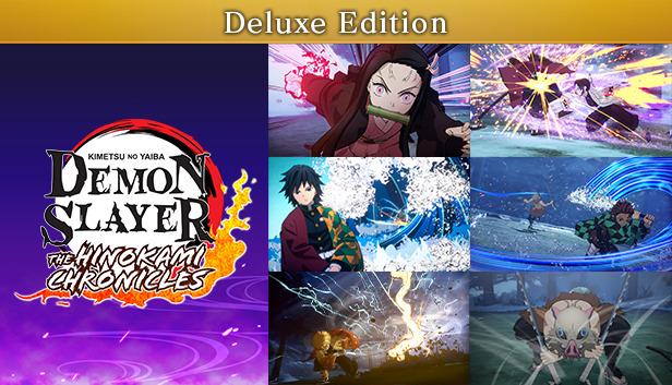 Kimetsu no Yaiba The Hinokami Chronicles Deluxe Edition