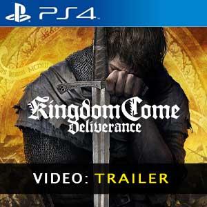 Kingdom Come Deliverance PS4 Video Trailer