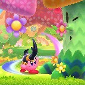 Kirby Triple Deluxe Nintendo 3DS Flowery Woods