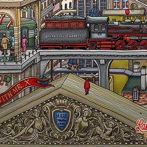 Labyrinth City Pierre the Maze Detective - Train