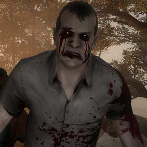 A group of zombies in Left 4 Dead 2