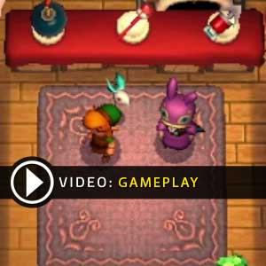 Legend of Zelda A Link between Worlds Nintendo 3DS Gameplay Video