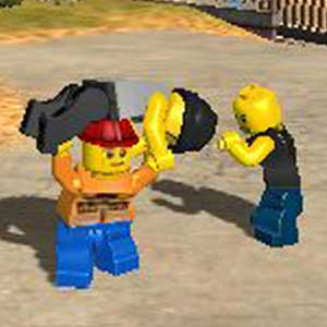 LEGO City Undercover The Chase Begins Nintendo 3DS Fight