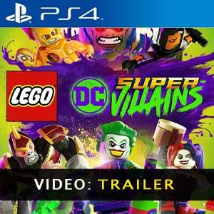 LEGO DC Super-Villains PS4 Video Trailer