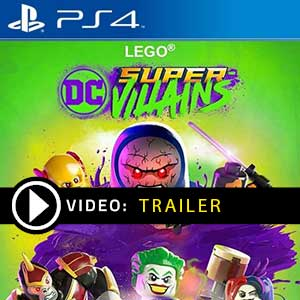 LEGO DC Super-Villains PS4 Prices Digital or Box Edition