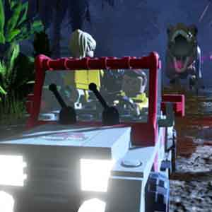 LEGO JURASSIC WORLD PS4 The Chase