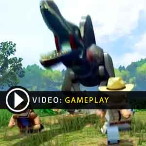 LEGO JURASSIC WORLD Gameplay Video