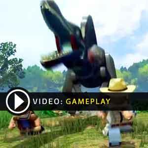 LEGO JURASSIC WORLD Gameplay Video