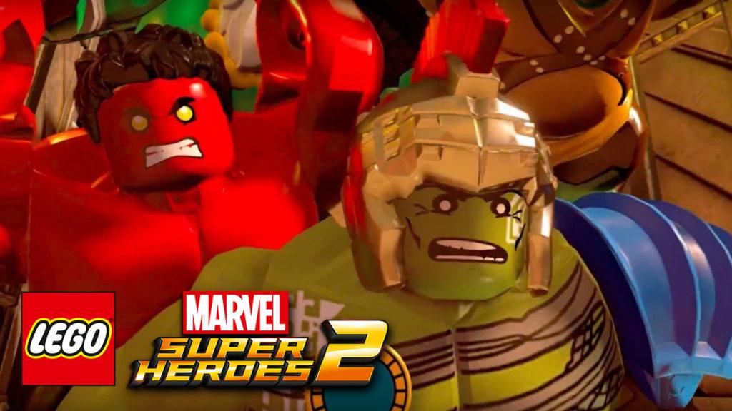 Lego Marvel Super Heroes 2 Trailer Cover