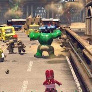 Lego Marvels Avengers PS4 Hostages