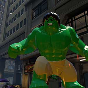 Lego Marvels Avengers Hulk