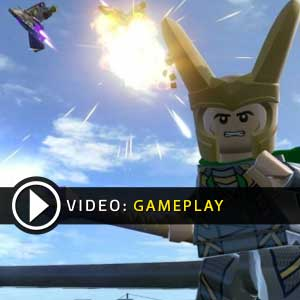 Lego Marvels Avengers PS4 Gameplay Video