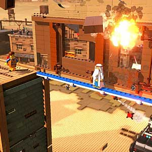 LEGO The Movie Videogame PS4 - Explosion