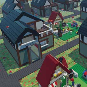LEGO Worlds Customized Village