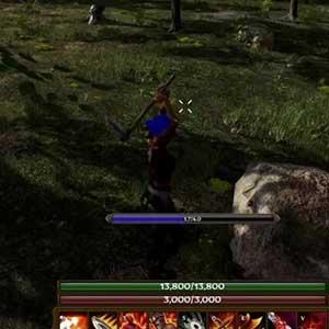 Attack of swords