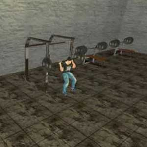 Doing gym workouts