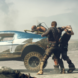 Mad Max PS4 - Max ambushed by bandits