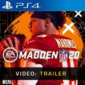 Madden NFL 20 PS4 Video Trailer