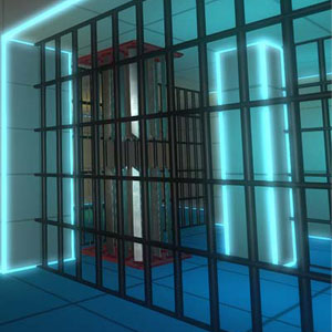 Magnetic Cage Closed: Room Covered with Magnetic Field
