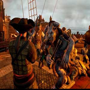 Man O War Corsair Fight