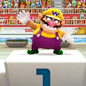 Mario & Sonic at the Sochi 2014 Olympic Winter Games Nintendo Wii U - Mario