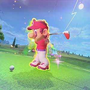 Mario Golf Super Rush Tee Off