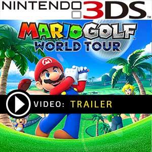 Mario Golf World Tour Nintendo 3DS Digital or Box Edition