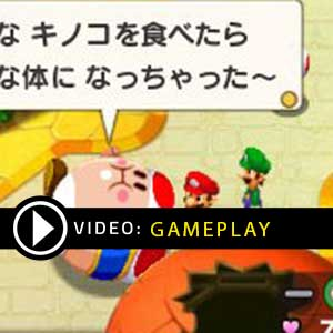 Mario & Luigi Bowser's Inside Story + Bowser Jr.'s Journey Nintendo 3DS Gameplay Video