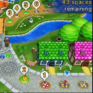 Mario Party Island Tour Nintendo 3DS Map