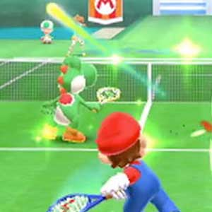 Mario Tennis Open Nintendo 3DS Gameplay