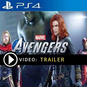 Marvels Avengers trailer video