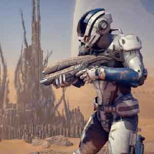 Mass Effect Game Character