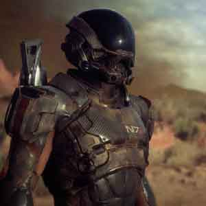 Mass Effect Andromeda Player Graphics