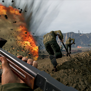 Medal of Honor Above and Beyond VR trench