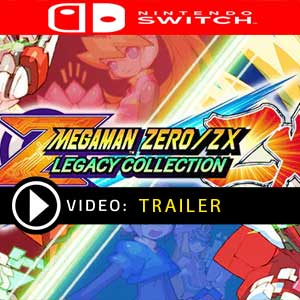 Mega Man Zero/ZX Legacy Collection Nintendo Switch Prices Digital or Box Edition