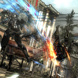 Metal Gear Rising Revengeance Battle