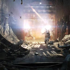 Metro Last Light Gun Fight