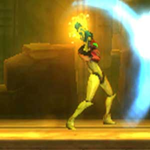 Metroid Samus lightning shield