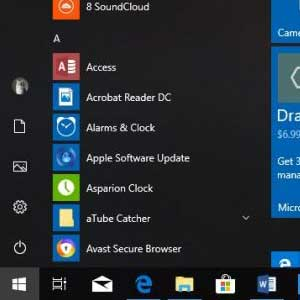 Microsoft Windows 10 Enterprise - Start