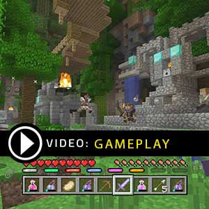 Minecraft Battle Map Pack Season Pass Xbox One Gameplay Video