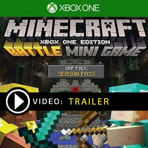 Minecraft Battle Map Pack Season Pass Xbox One Prices Digital or Box Edition