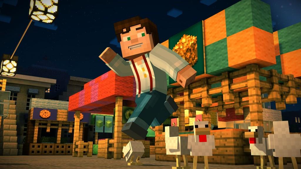 Trailer Zeigt Minecraft Story Mode Gameplay - Minecraft flussig spielen