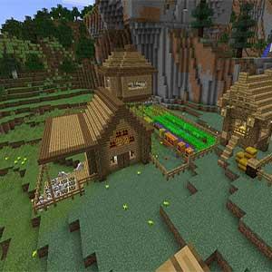 Minecraft Fighting Zombies