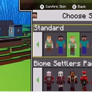 Minecraft Choose Skin